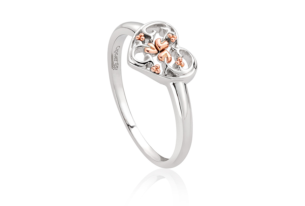 Silver Tree Of Life One Ring 3sonr4 Clogau Gold