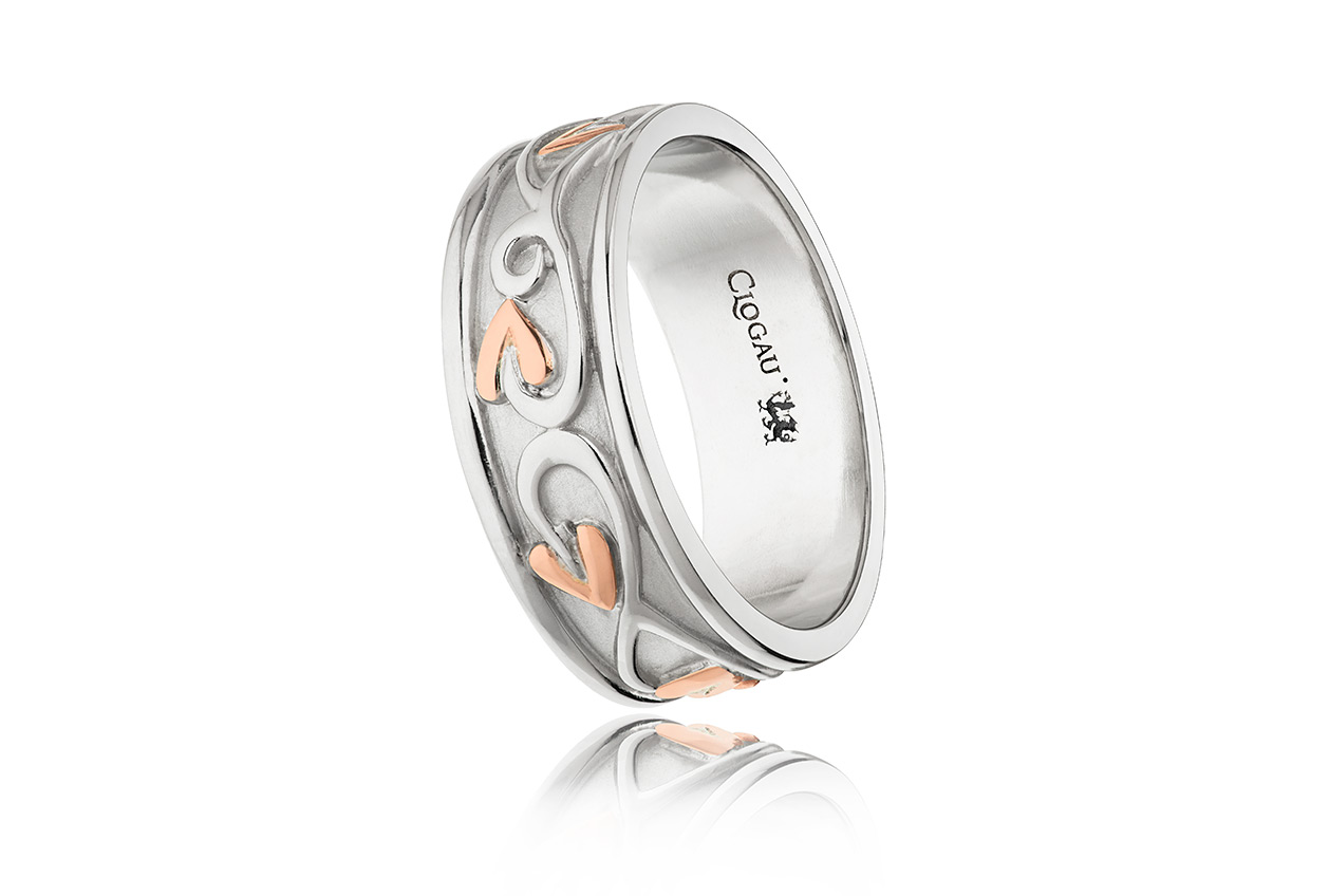 Silver Tree Of Life Ring 3sotlr2 Clogau Gold