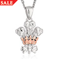 The Prince of Wales Feathers 50th Anniversary Investiture pendant *SALE*
