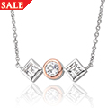 Welsh Royalty White Topaz Necklace *SALE*