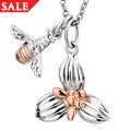 Honey Bee Orchid Pendant *SALE*