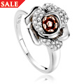 Rose White Topaz Ring *SALE*