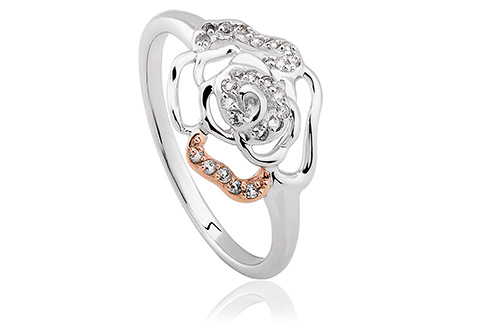 Royal Roses White Topaz Ring *SALE*