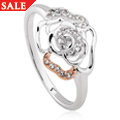 Royal Roses® White Topaz Ring