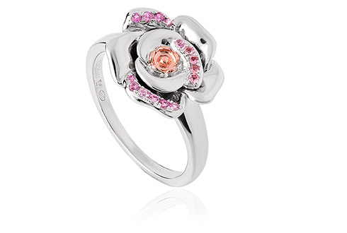 Twilight Rose Pink Sapphire Ring