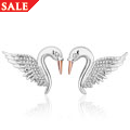 Swan Royal Earrings