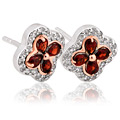 Tudor Court Garnet Earrings