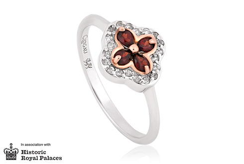 Tudor Court Garnet Ring