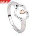 Tree of Life Heart Ring *SALE*