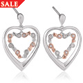 Tree of Life<sup>&reg;</sup> Eternity Heart Drop Earrings