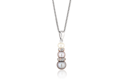 Tree of Life Pearl Pendant