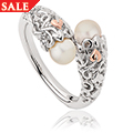 Tree of Life Pearl Ring
