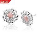 Tudor Rose Stud Earrings *SALE*