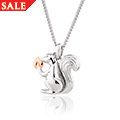 Tree of Life Touchwood Squirrel Pendant