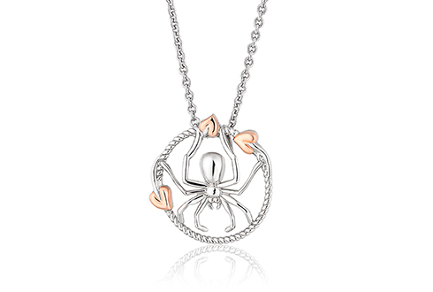 Tree of Life Touchwood Spider Pendant