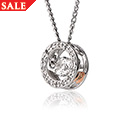 National Treasure Swarovski Topaz Pendant