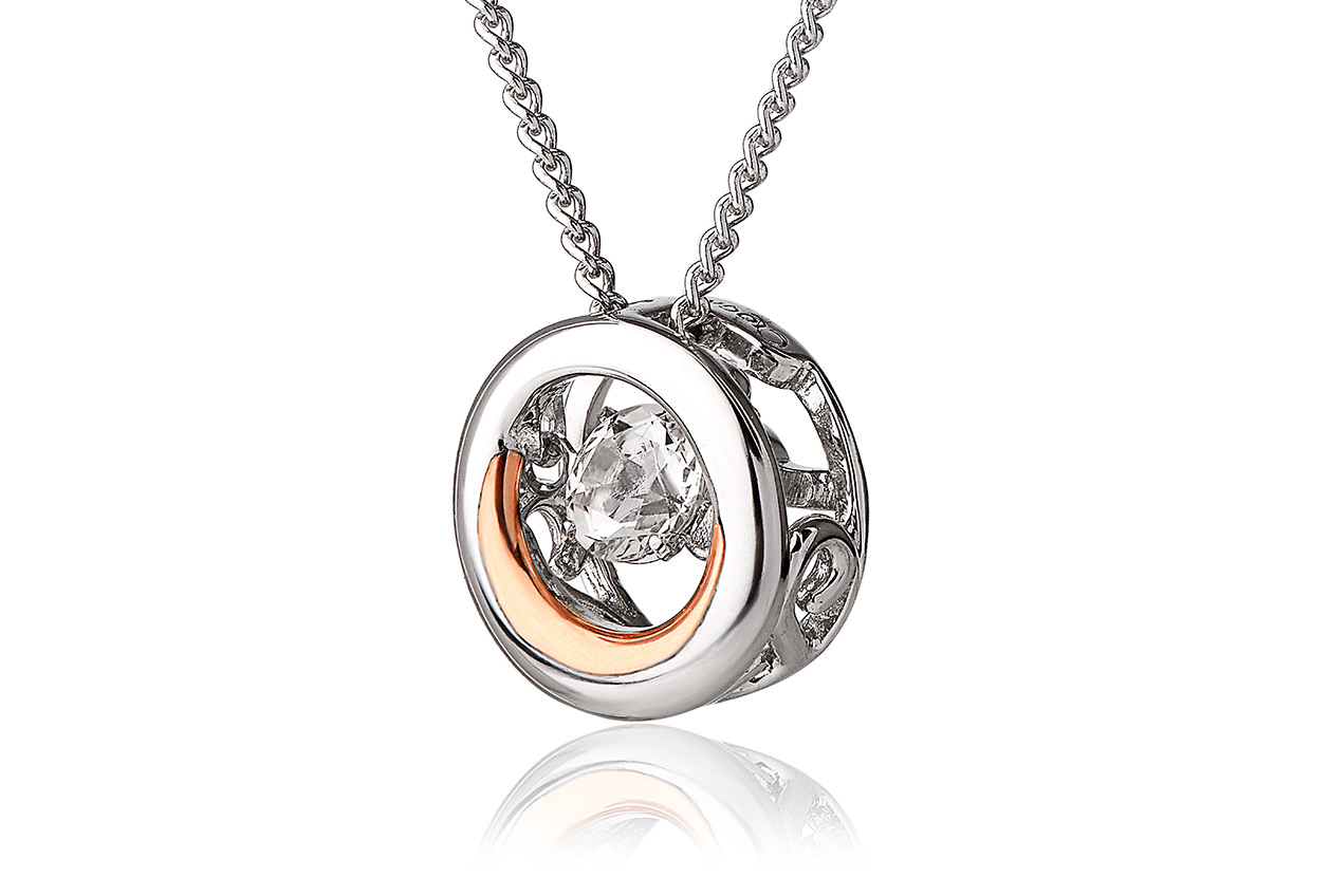 National Treasures Swarovski Topaz Pendant