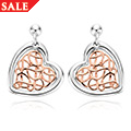 Welsh Royalty Heart Earrings *SALE*