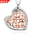 Welsh Royalty Heart Pendant *SALE*