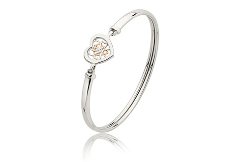 Welsh Royalty Heart Bangle