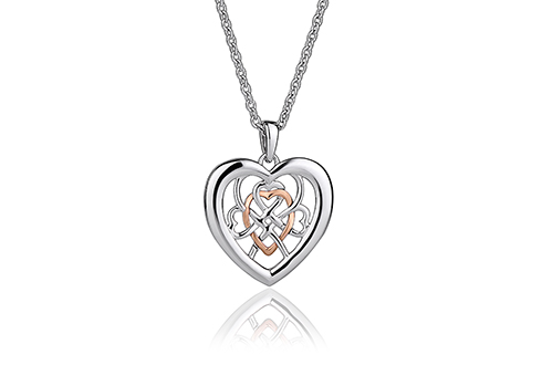 Welsh Royalty Heart Pendant