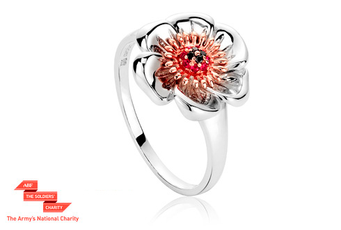 Welsh Poppy Ring *SALE*
