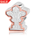 Welsh Rugby Union Bead Charm *SALE*