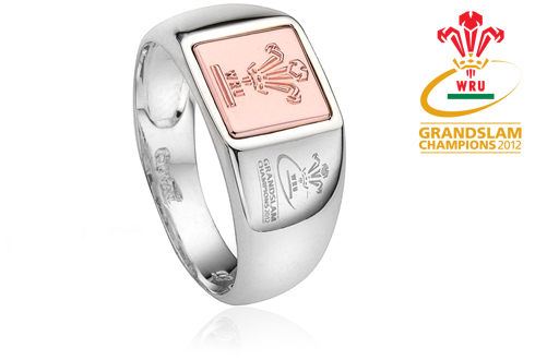 Welsh Rugby Union Signet Ring