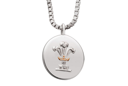 Welsh Rugby Union and Welsh Dragon Pendant