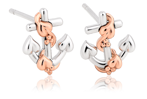 Hope House Anchor Stud Earrings *SALE*