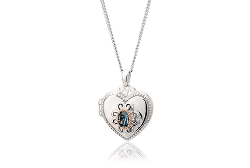The Two Queens Topaz Locket *SALE*