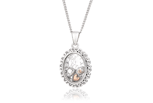 Looking Glass Inner Charm Pendant *SALE*