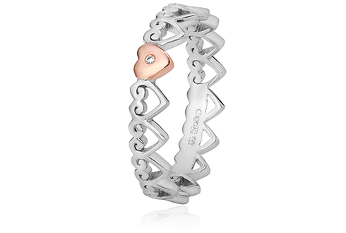 Heart Affinity Stacking Ring *SALE*