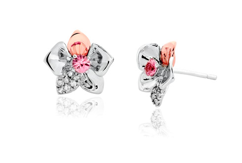 Orchid Stud Earrings *SALE*
