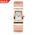 Rose plated Ladies Diamond Watch