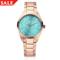 Turquoise Enamel Faced Tree of Life Watch