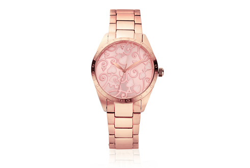 Pink Tree of Life Watch
