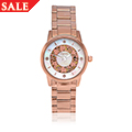 Rose Stainless Steel Clogau Baroque Watch