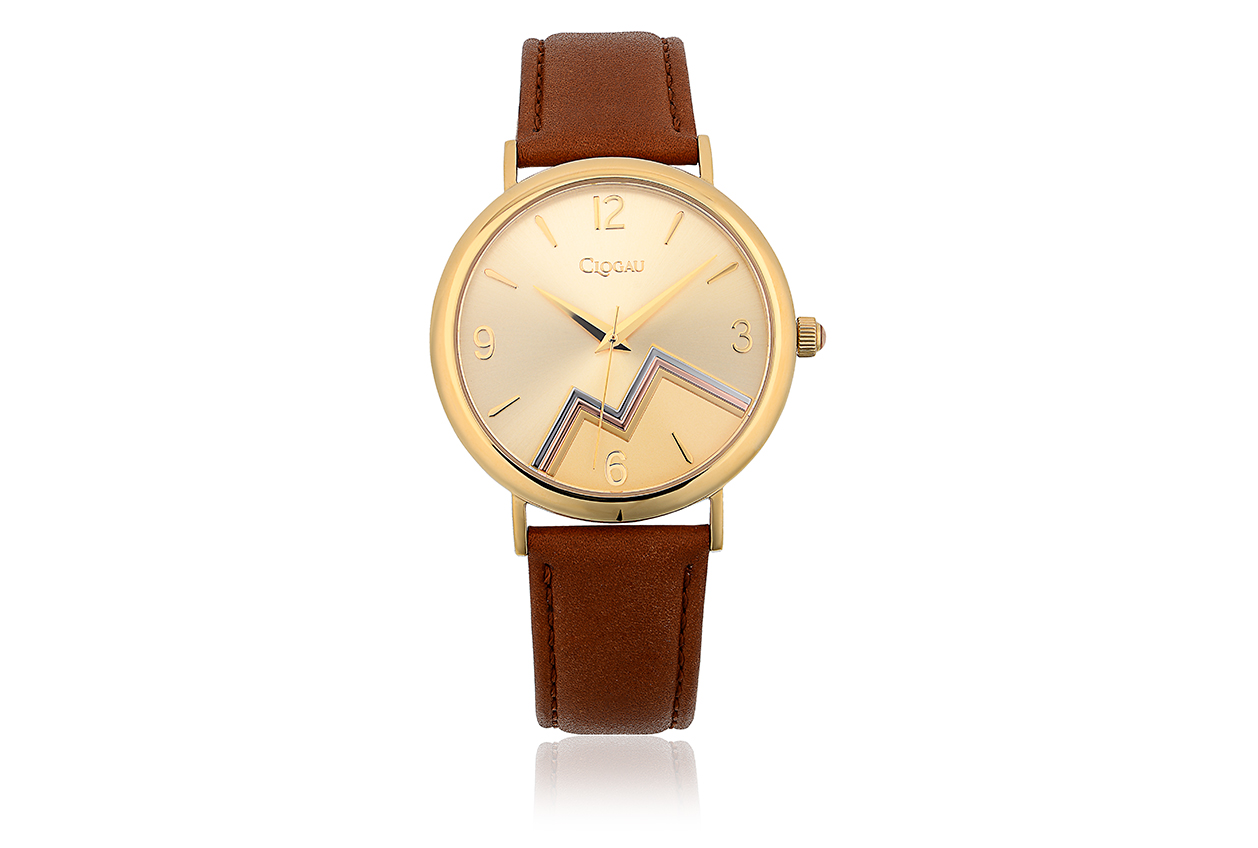 Staineless Steel Yellow & Rose Cynefin Watch