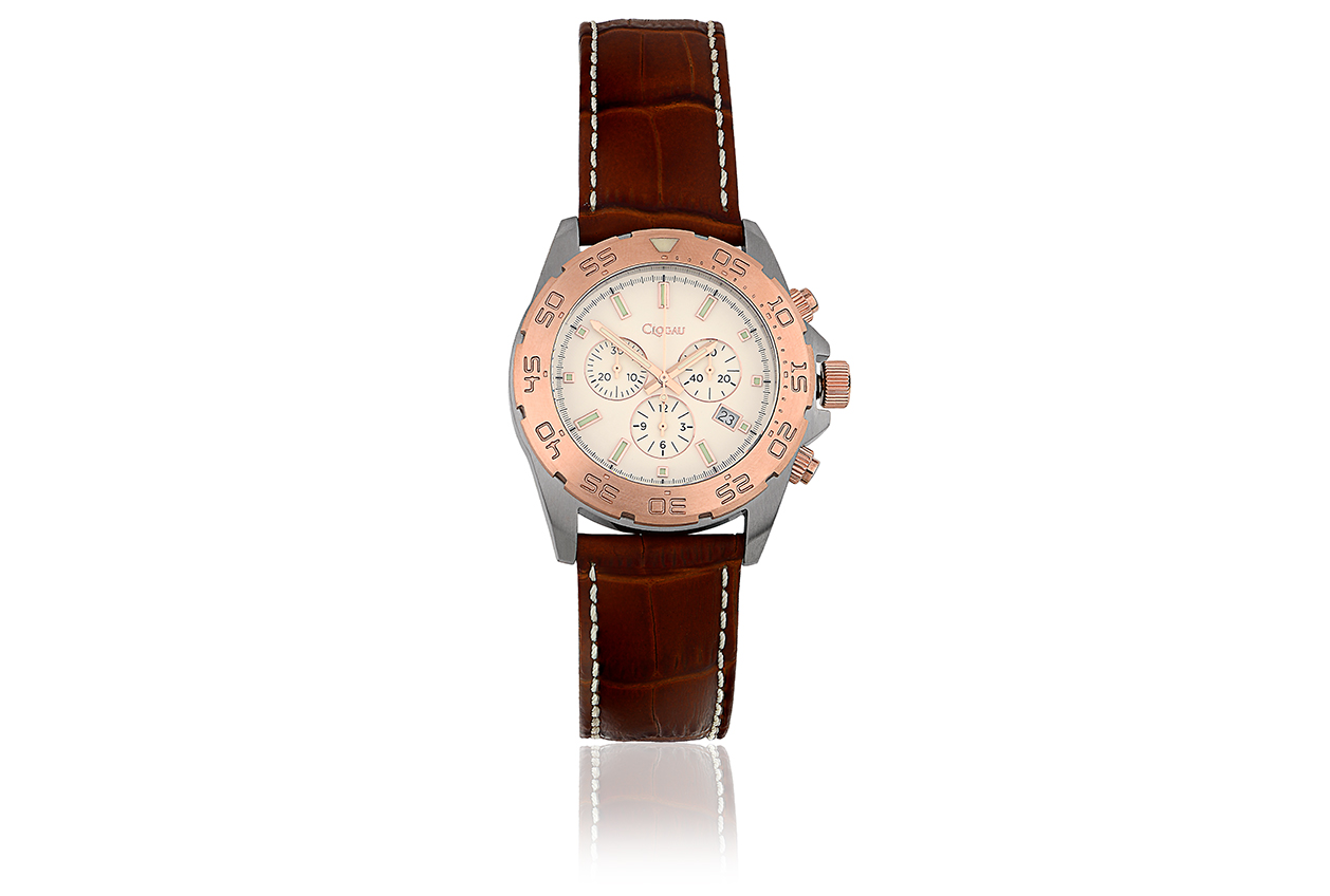Clogau Rose Plated Stainless Steel Watch