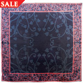 Silk Tree of Life Navy Scarf *SALE*