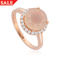 Ar Dan White Chalcedony Ring *SALE*