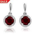Ar Dan Garnet Stud Earrings *SALE*