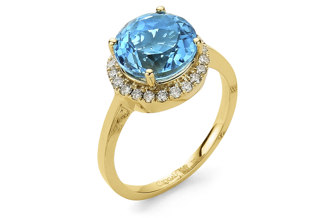 Ar Dan Blue Topaz Ring *SALE*
