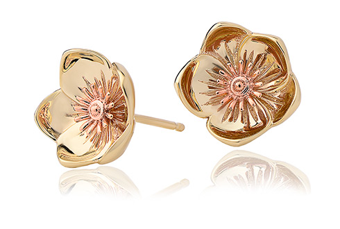 Buttercup Stud Earrings