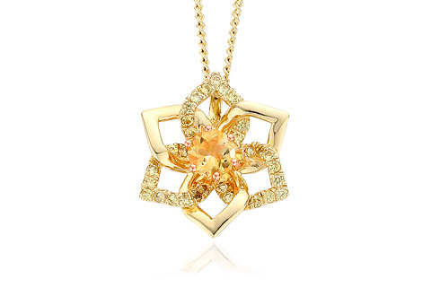 a4f1db873 ITEM DISCONTINUED Eternal Daffodil Pendant DISCCDP1 | Clogau Gold