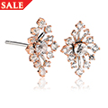 Clogau Celebration Sparkle Stud Earrings