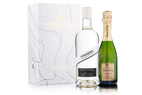 Foragers Clogau Reserve Gin & Champagne Rene Jolly 2019