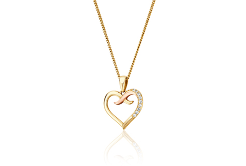 Clogau Kiss Diamond Pendant