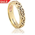 Annwyl Celtic 5mm Ring *SALE*